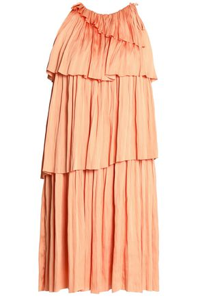 DAY BIRGER ET MIKKELSEN Pleated tiered twill dress