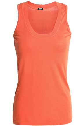 MONROW Slub modal and Supima cotton-blend tank