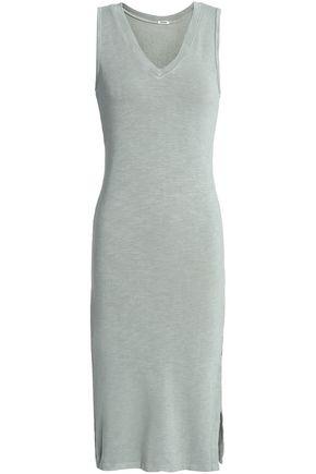 MONROW Slub jersey dress