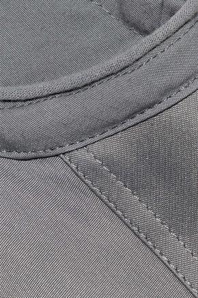 RICK OWENS Oversized cotton-blend taffeta top