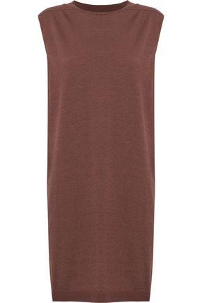 RICK OWENS Mélange cashmere-blend tunic