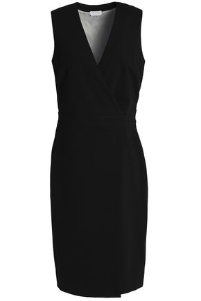 DAY BIRGER ET MIKKELSEN Wrap-effect ponte dress