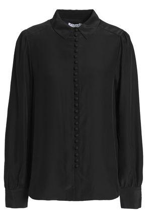 FRAME Silk-satin shirt