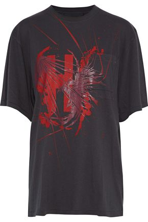 HAIDER ACKERMANN Awuna printed cotton-jersey T-shirt