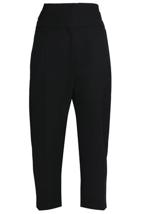 HAIDER ACKERMANN Cropped wool straight-leg pants