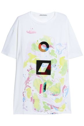 ACNE STUDIOS Printed cotton T-shirt