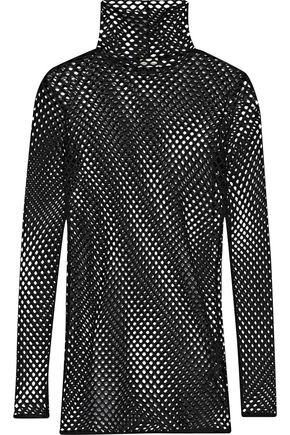 BY MALENE BIRGER Hados mesh turtleneck top