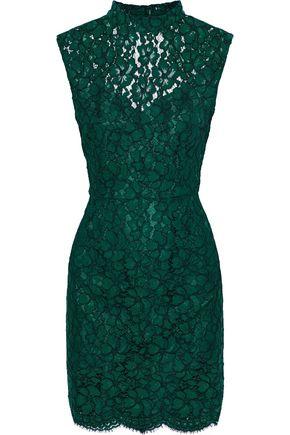 SANDRO Romie open-back corded lace mini dress