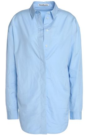 ACNE STUDIOS Cotton-poplin shirt dress