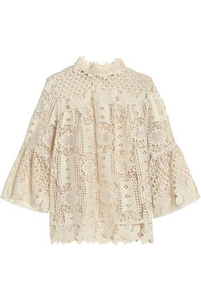 ANNA SUI Guipure lace top