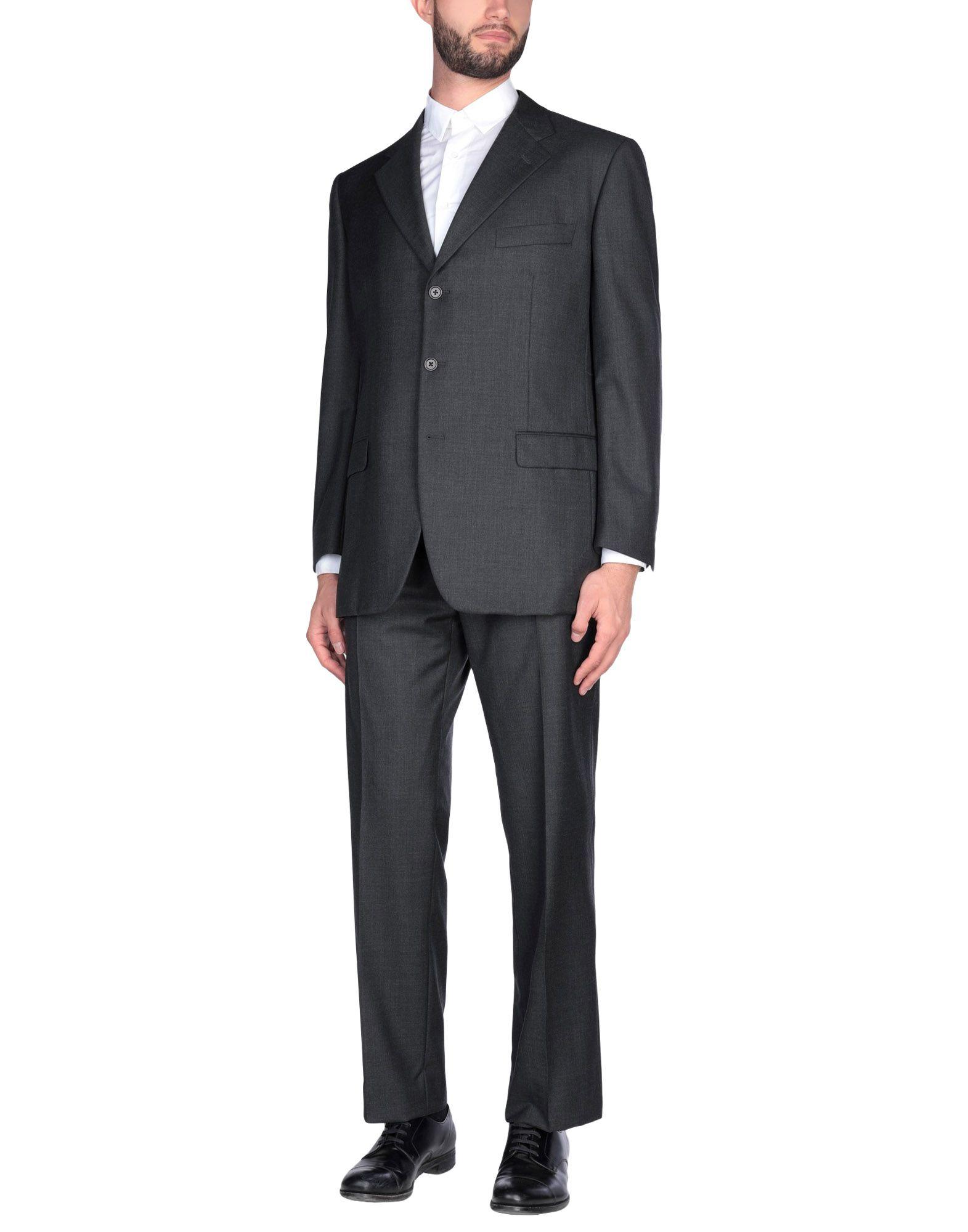 《送料無料》BURBERRY メンズ スーツ スチールグレー 56 スーパー120 ウール 100%