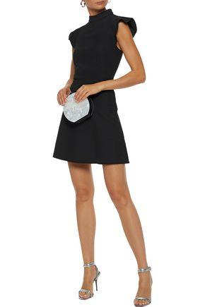 RACHEL ZOE Rocco twill mini dress