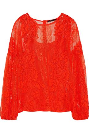 MAJE Layou corded lace blouse