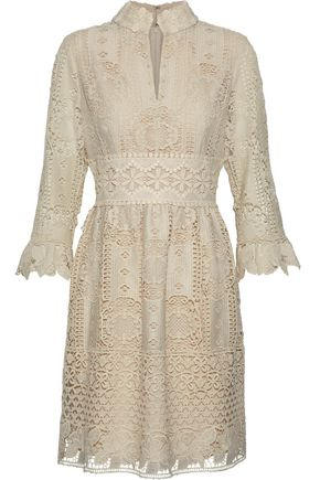 ANNA SUI Guipure lace dress