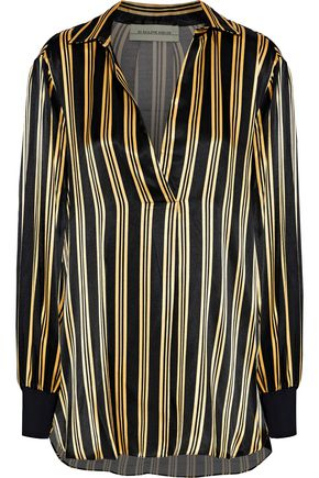 BY MALENE BIRGER Mourci striped satin tunic