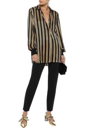 BY MALENE BIRGER Mourci striped satin tunic