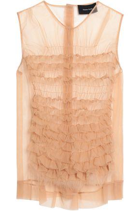 SIMONE ROCHA Ruffled embellished tulle top