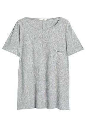 RAG & BONE/JEAN Mélange cotton-jersey T-shirt