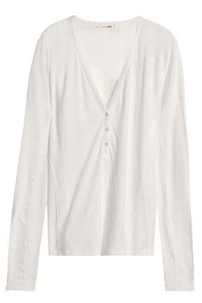 RAG & BONE/JEAN Linen and cotton-blend top