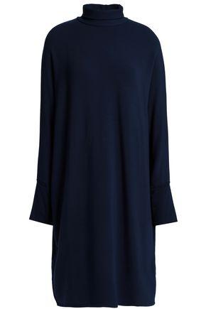 MAJESTIC FILATURES Jersey turtleneck dress