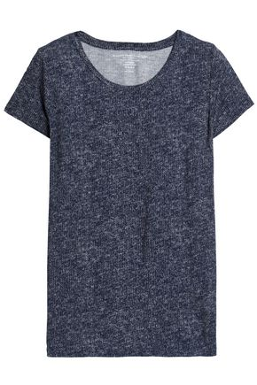 MAJESTIC FILATURES Marled stretch-jersey T-shirt