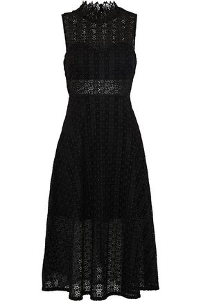 SANDRO Alisa crocheted dress