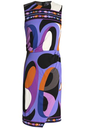 EMILIO PUCCI Printed stretch-jersey dress