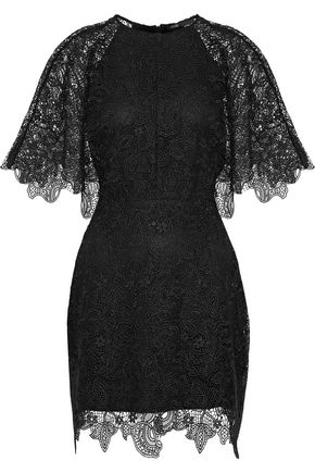MAJE Rocandi lace mini dress