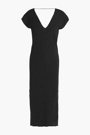 BRUNELLO CUCINELLI Cashmere-blend midi dress