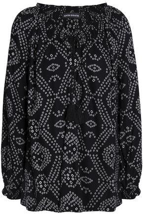 ANTIK BATIK Printed crepe blouse