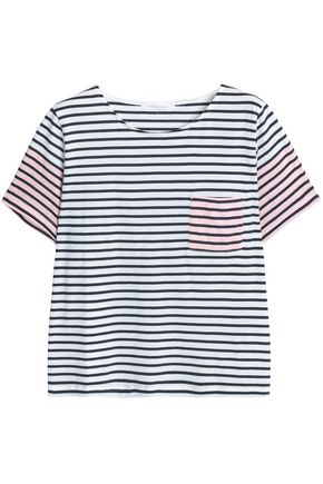 CHINTI AND PARKER Striped cotton-jersey T-shirt