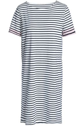CHINTI AND PARKER Striped cotton-jersey mini dress