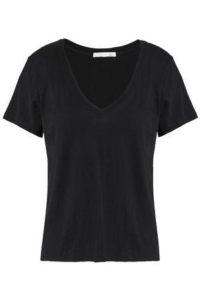 SKIN Slub cotton-jersey T-shirt