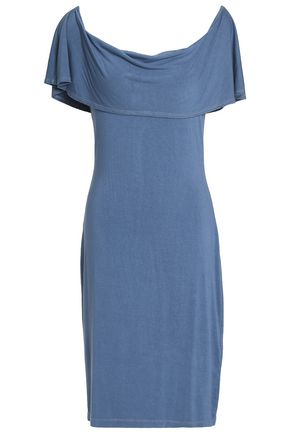 KAIN Layered cotton and modal-blend jersey dress