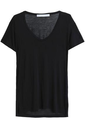 KAIN Slub modal and silk-blend jersey T-shirt