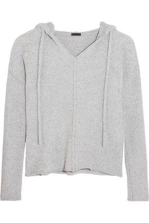 ATM ANTHONY THOMAS MELILLO Bouclé hooded sweater
