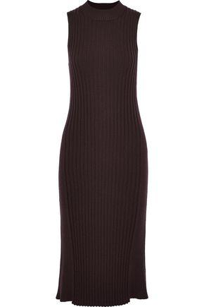 VEDA Angela ribbed wool-blend dress