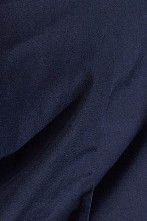 ALICE + OLIVIA Zoya strapless cotton-poplin mini dress