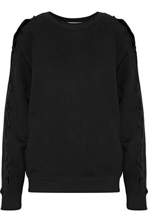 Nakina Lace Up Cotton Sweatshirt by Iro