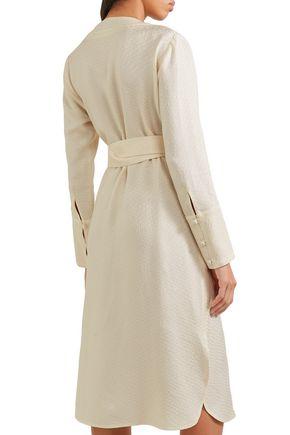 PROTAGONIST Jacquard wrap dress