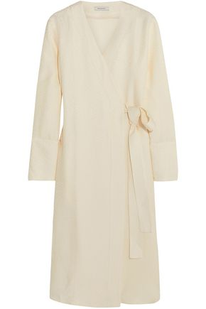 PROTAGONIST Jacquard wrap dress