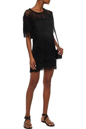 IRO Pike cotton-blend lace mini dress