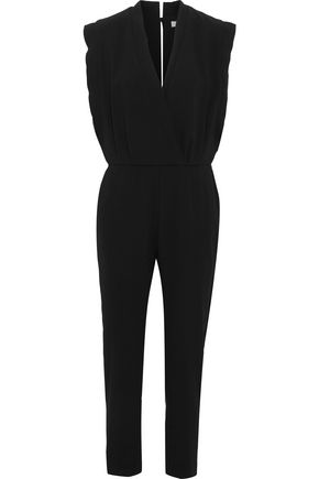 IRO Ioco wrap-effect crepe jumpsuit