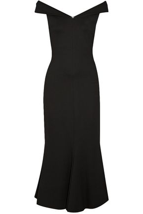 ROSETTA GETTY Off-the-shoulder stretch-jersey maxi dress
