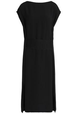 JIL SANDER Satin-crepe dress