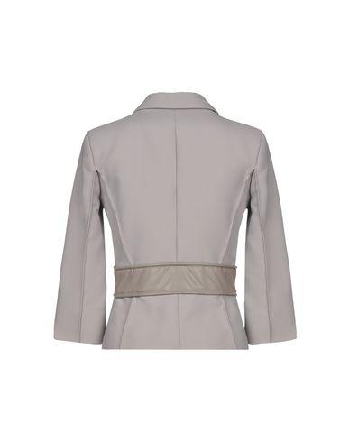 Фото 2 - Женский пиджак ELISABETTA FRANCHI 24 ORE серого цвета