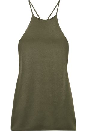 Satin Crepe Camisole by Halston Heritage