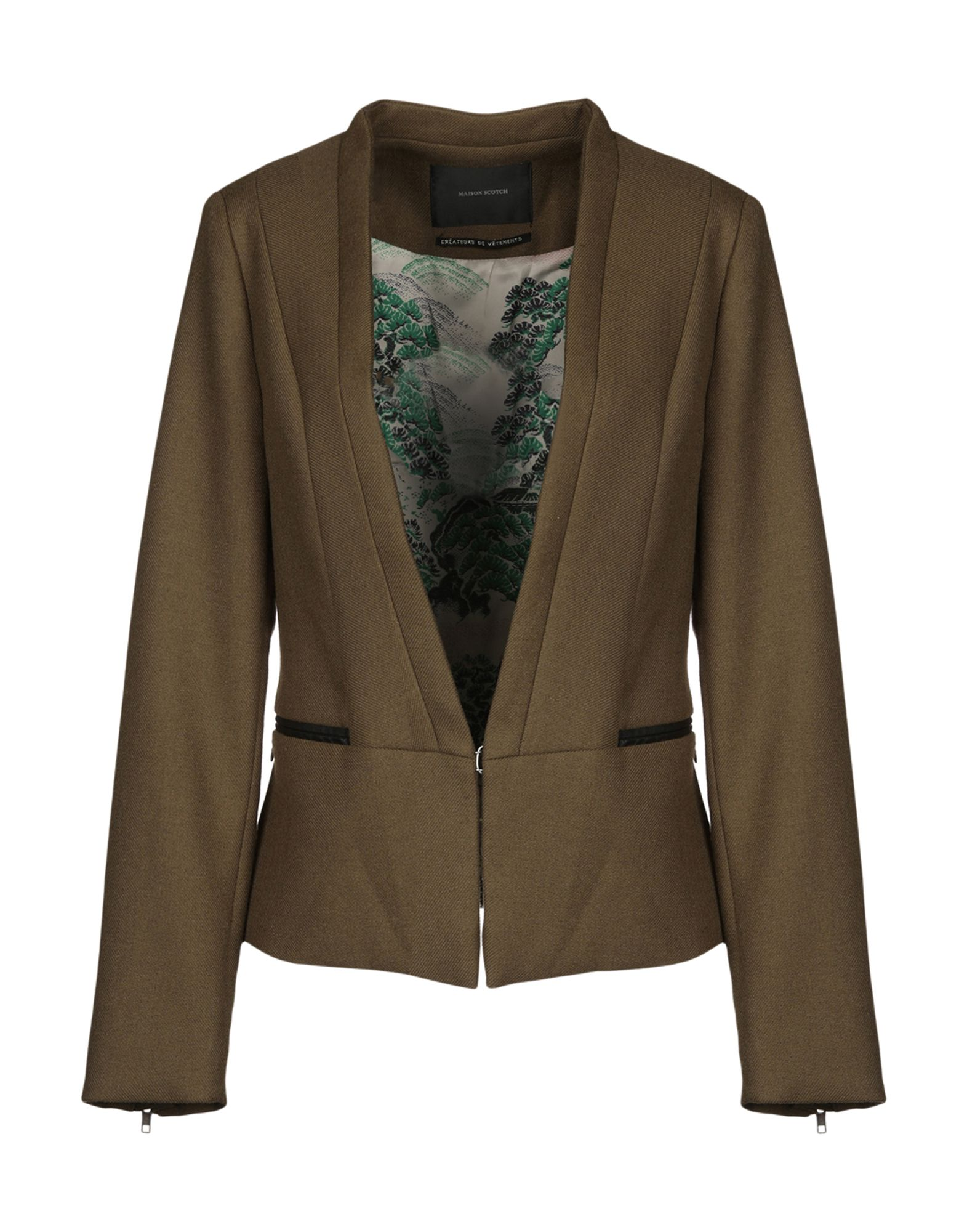 MAISON SCOTCH Blazer in Military Green