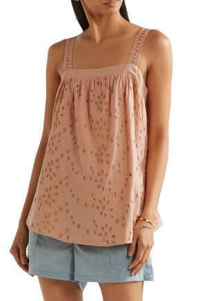 HATCH Broderie anglaise cotton top