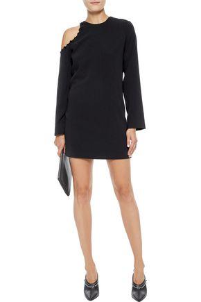 IRO Breen cutout crepe mini dress